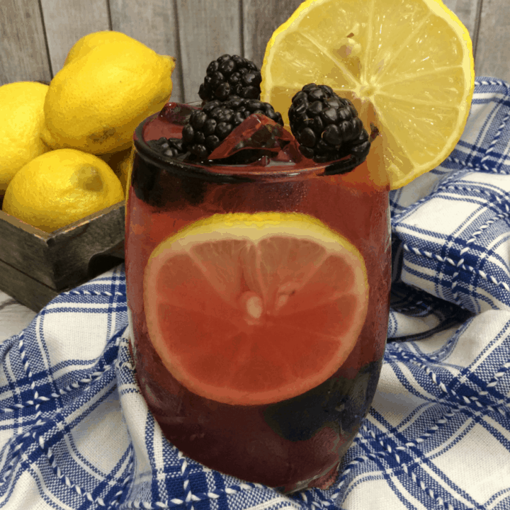 'Til the End of the Line | Bucky's Blackberry Lemonade