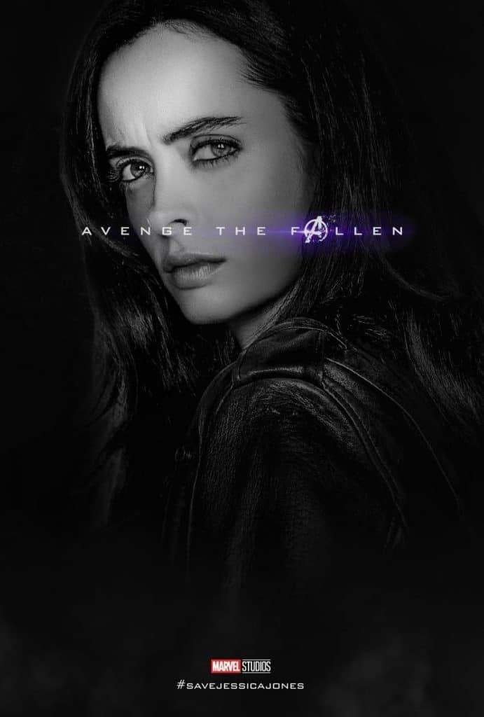 Jessica Jones Avenge the Fallen Memes