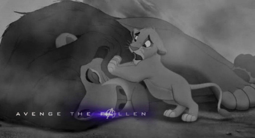 Lion King Avenge the Fallen Memes