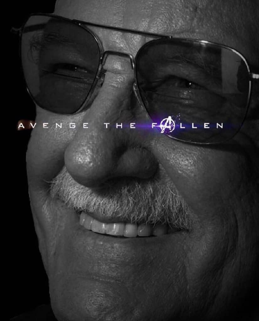 Stan Lee Avenge the Fallen Meme