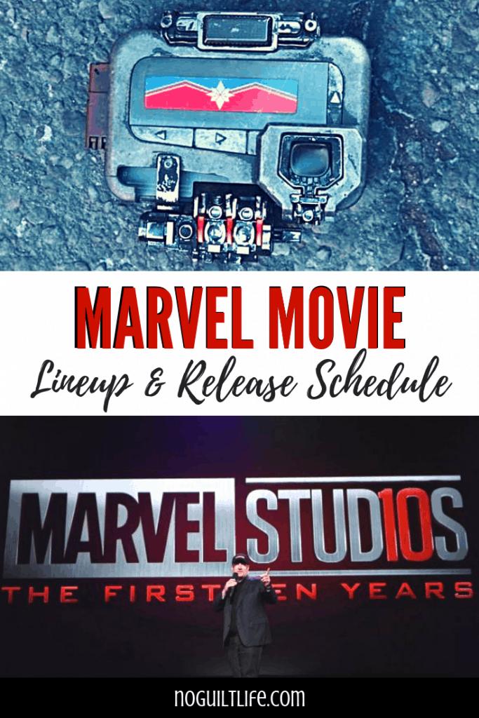 Marvel Movie Lineup & Marvel movie Schedule 2019 and beyond! #marvel #mcu