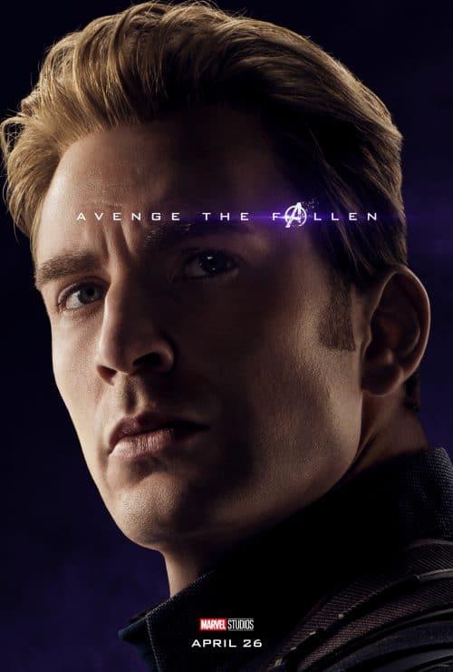 Avenge the Fallen Poster Captain America