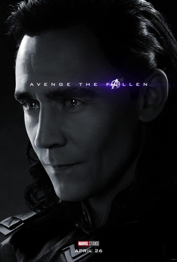 Avenge the Fallen Poster Loki