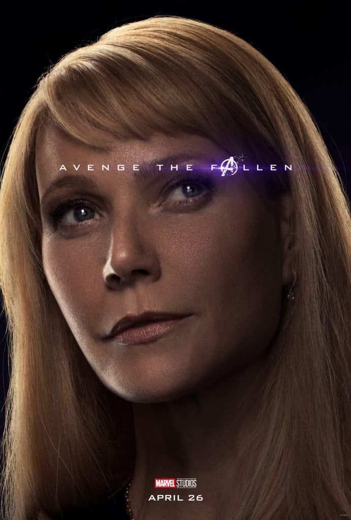 Avenge the Fallen Pepper Potts