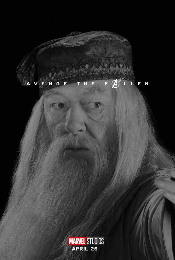 dumbledore avenge the fallen meme