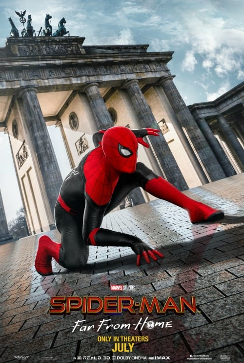 spider-man far from home poster