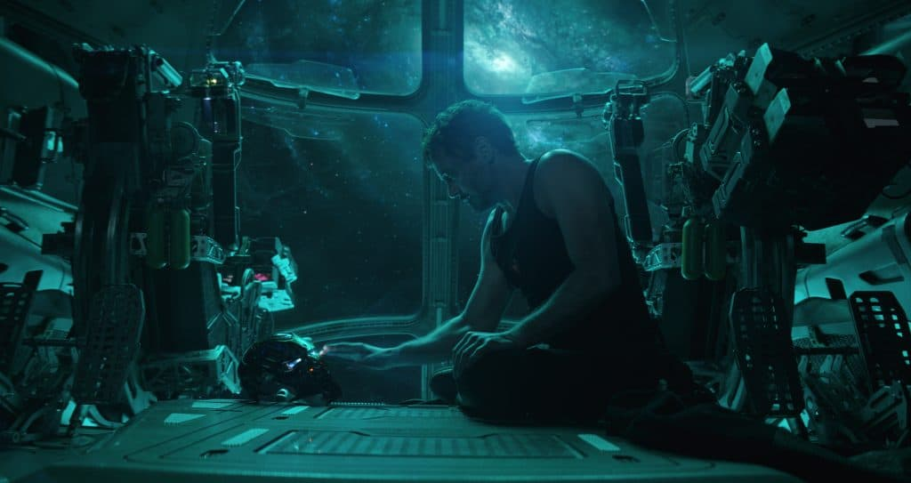 Tony Stark in space in Avengers: Endgame- the next movie up in the Marvel movie schedule