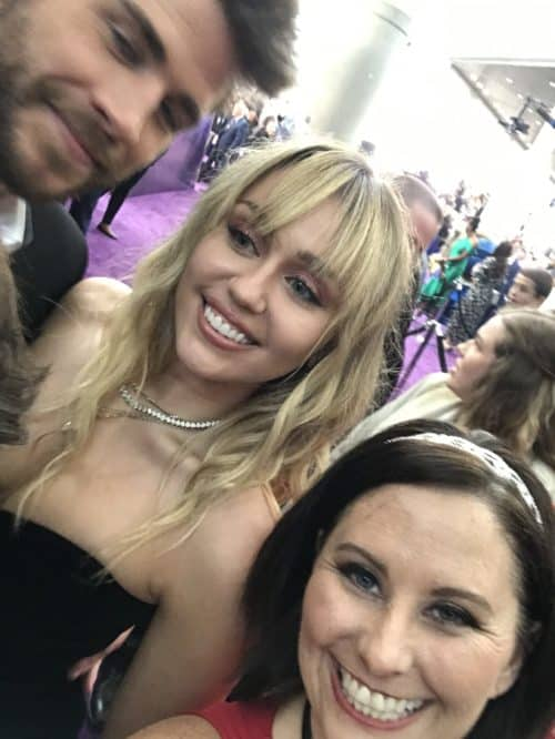 Miley Cyrus and Liam Hemsworth Avengers Endgame premiere