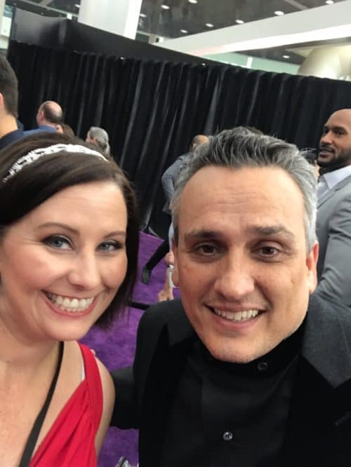 Joe Russo at AVengers: Endgame Premiere red carpet