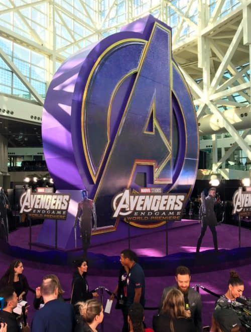 Avengers endgame premiere red carpet