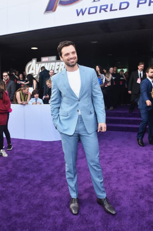 "Los Angeles World Premiere Of Marvel Studios' ""Avengers: Endgame"" Sebastian Stan"
