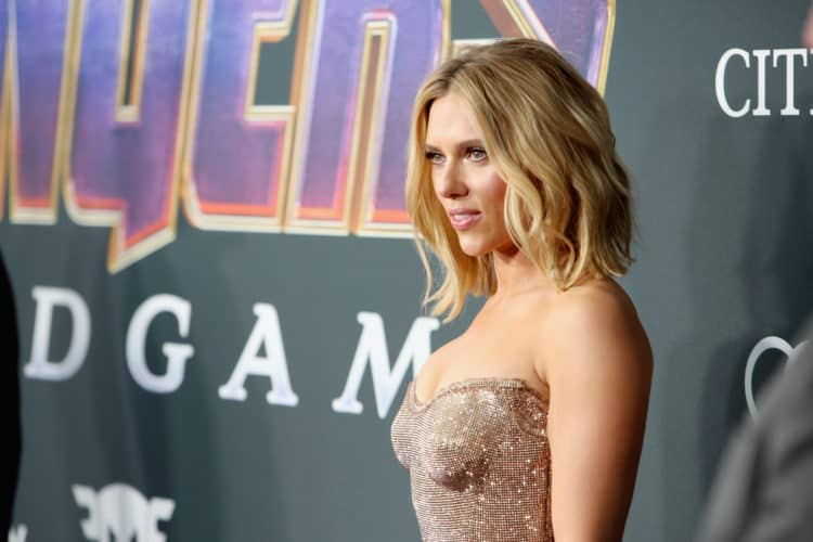 "Los Angeles World Premiere Of Marvel Studios' ""Avengers: Endgame"" Scarlett Johansson"