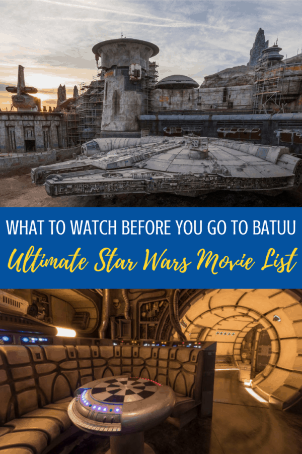 Ultimate Star Wars Movie List