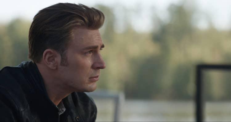 Marvel Studios' AVENGERS: ENDGAME..Steve Rogers crying