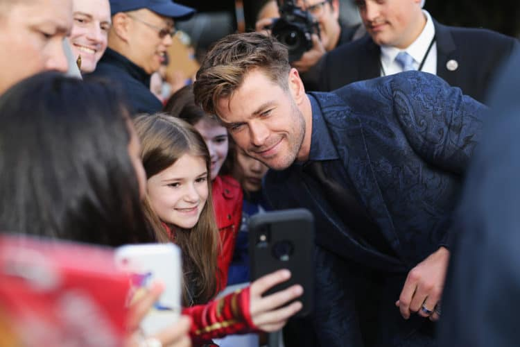 "Los Angeles World Premiere Of Marvel Studios' ""Avengers: Endgame"" Chris Hemsworth"