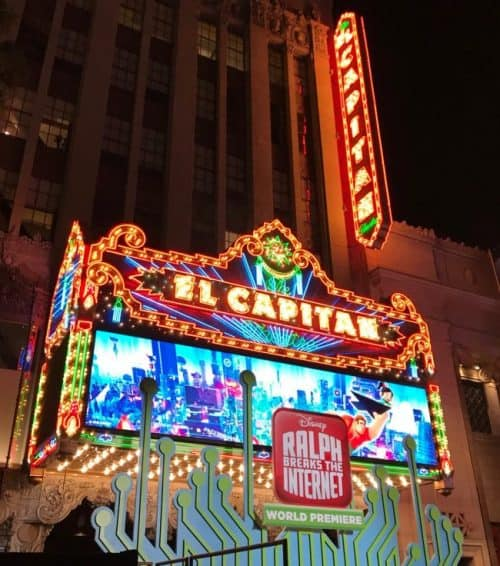 el capitan theatre ralph breaks the internet red carpet world premiere