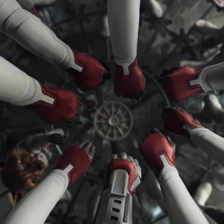 Marvel Studios' AVENGERS: ENDGAME hands