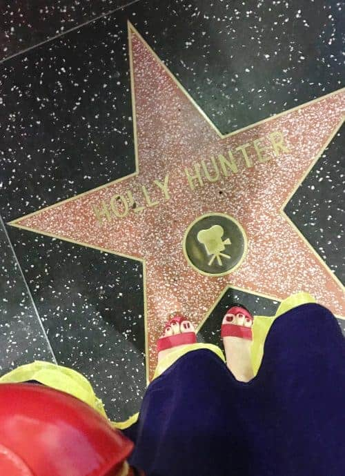 holly hunter star on the hollywood walk of fame