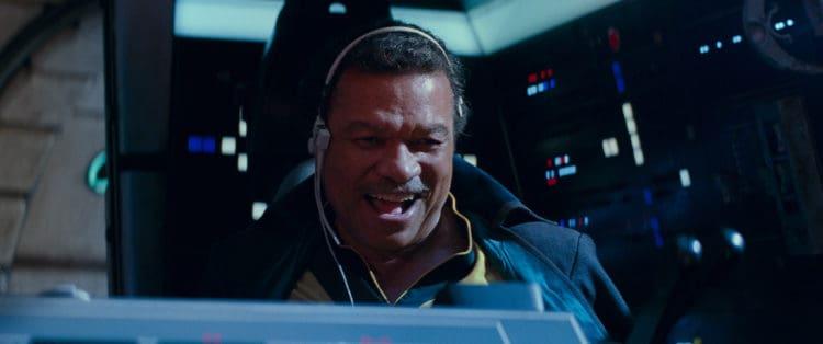 Lando Calrissian (Billy Dee Williams) i