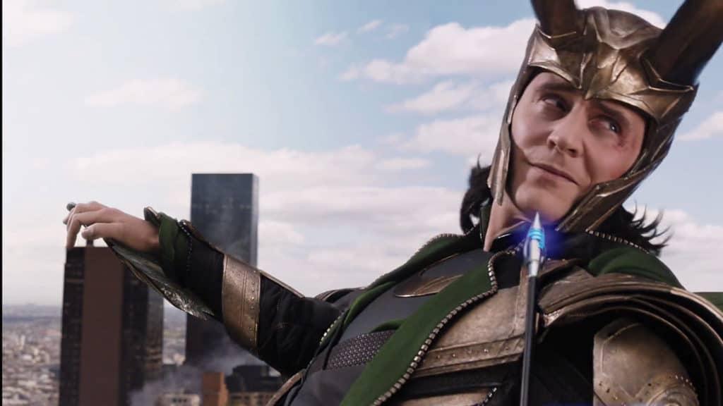 Tom Hiddleston as Loki from Avengers