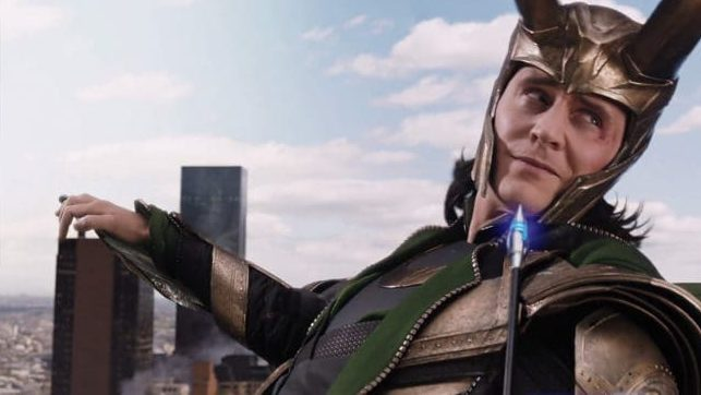 Tom Hiddleston as Loki from Avengers