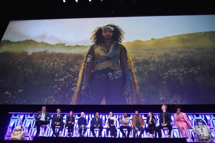 "Star Wars Celebration: ""The Rise of Skywalker"" Panel Jannah"