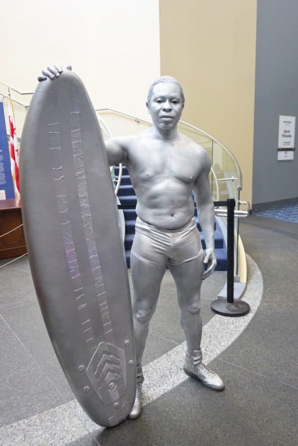 Silver Surfer Cosplay awesome con