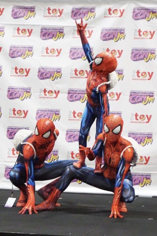 spider-man family cosplay