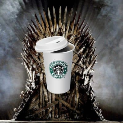 Starbucks Moves On The Iron Throne