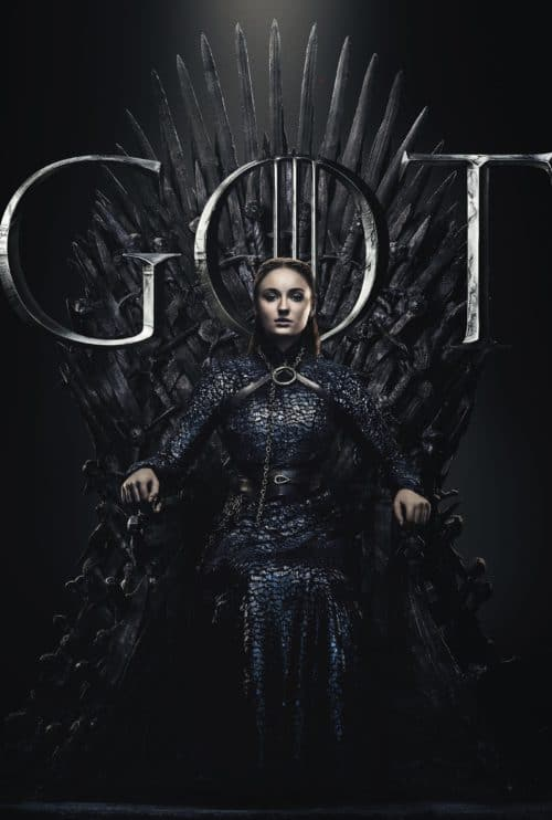 Sansa stark game of Thrones iron throne