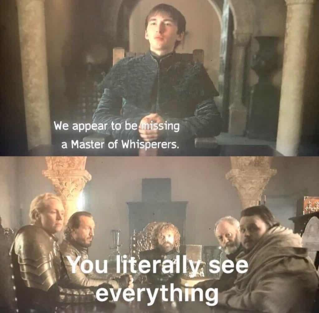 Creepy Bran Game of Thrones Series Finale Memes