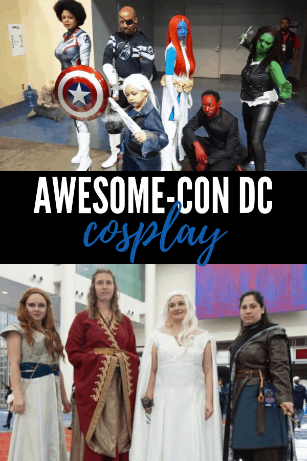 Awesome-Con DC Cosplayers: the best cosplays from the weekend. Plus a how-to on becoming a professional cosplayer. Yes, it's a thing! #cosplay #cosplayers #cons #costumes