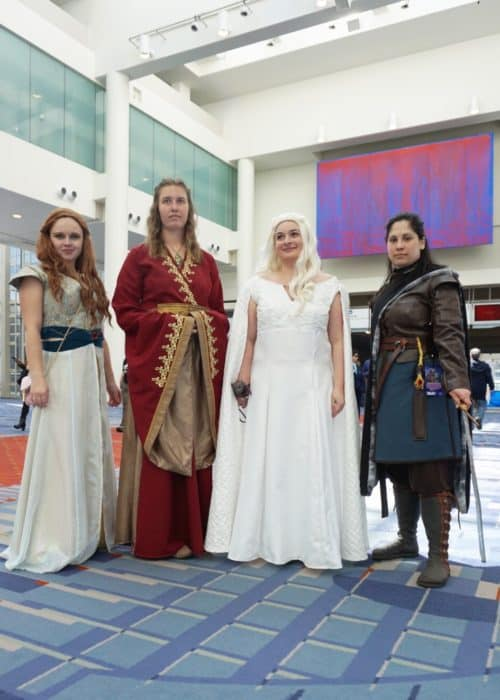 game of thrones cosplay awesome-con
