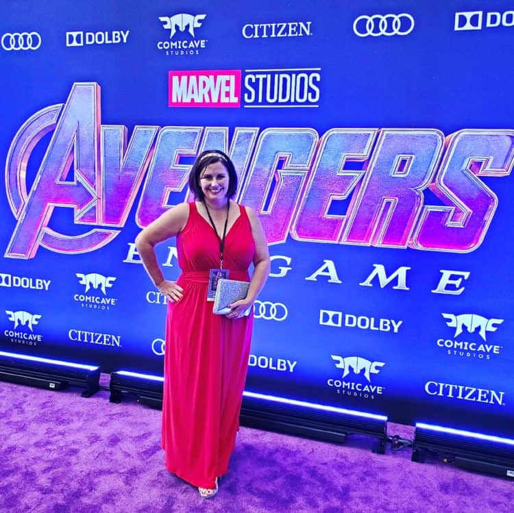 Avengers: Endgame red carpet