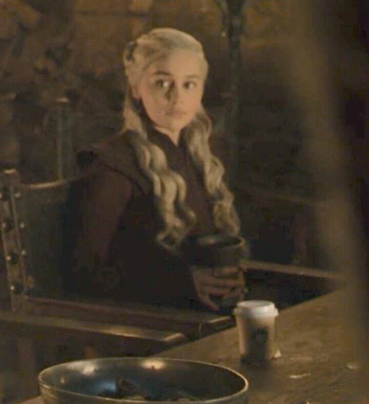 Starbucks at Winterfell Game of thrones