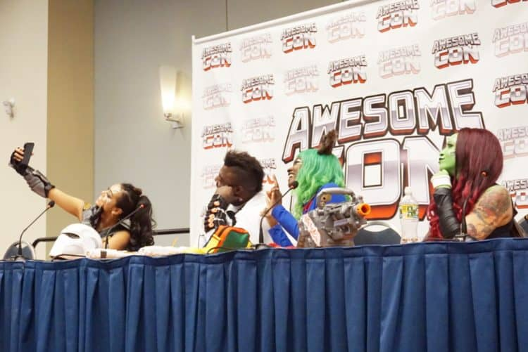 How to be a professional cosplayer panel at awesome con
