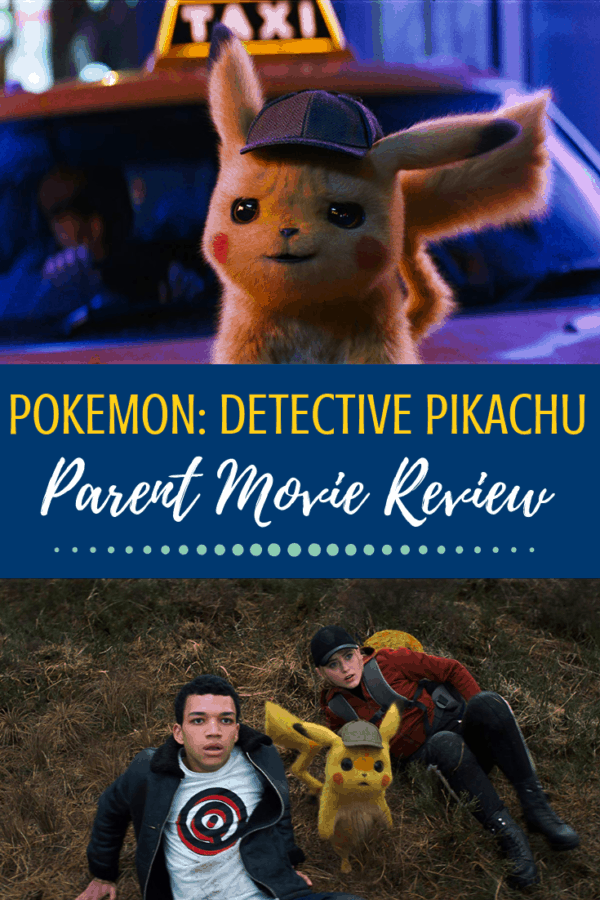 Pokemon: Detective Pikachu parent movie review. Is this one safe for kids? Find out how kid-friendly the first live action Pokemon movie is! #pokemon #detectivepikachu