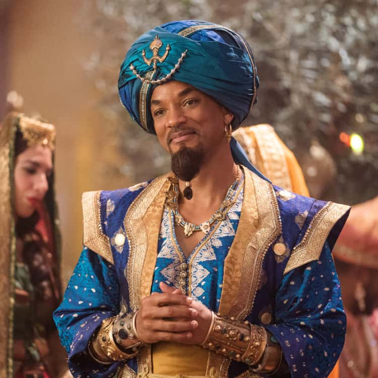 Will Smith is Genie in Disney's live-action ALADDIN