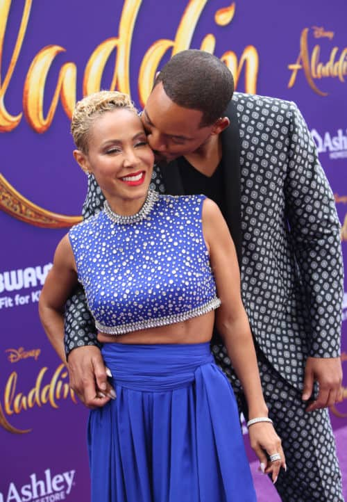 "Will and Jada Smith Aladdin Red Carpet World Premiere of Disney's ""Aladdin"" In Hollywood"