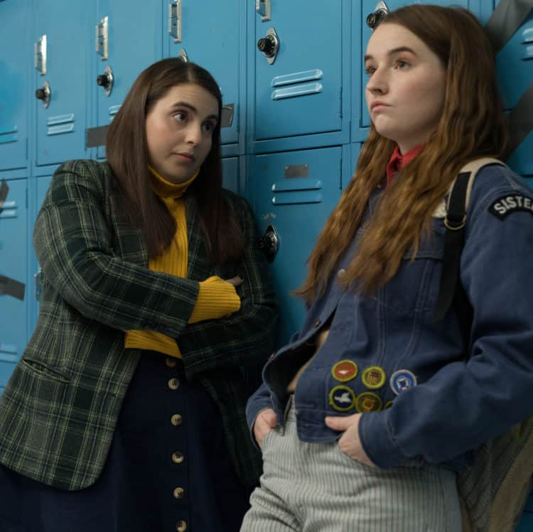 Beanie Feldstein stars as Molly and Kaitlyn Dever as Amy in Booksmart