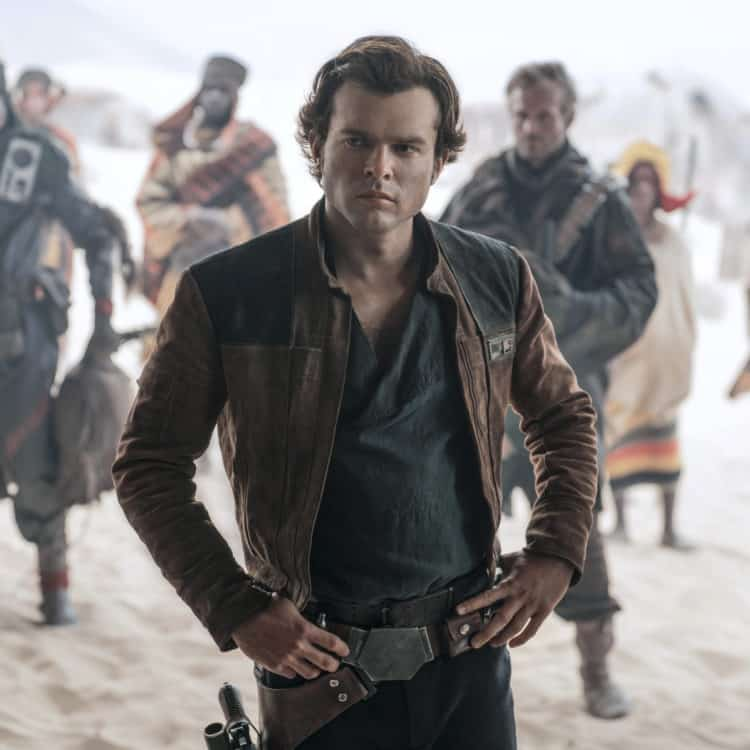 Han Solo in Solo A Star Wars Story