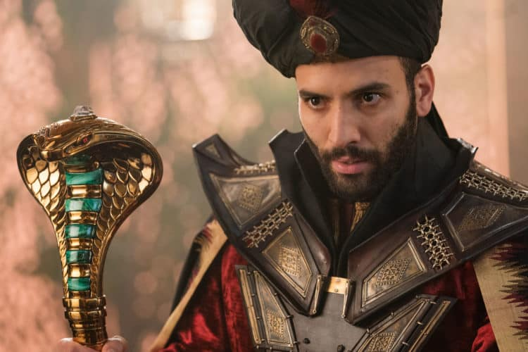 Marwan Kenzari is Jafar in Disney's live-action ALADDIN