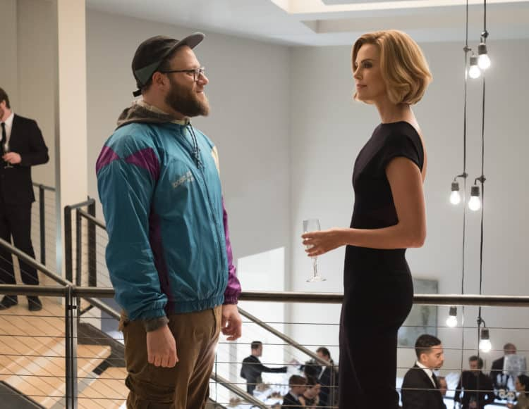 Long Shot Seth Rogen and Charlize Theron