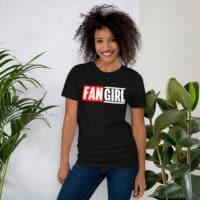 Marvelous Fangirl Black/Grey/Navy Short-Sleeve Unisex Slim T-Shirt
