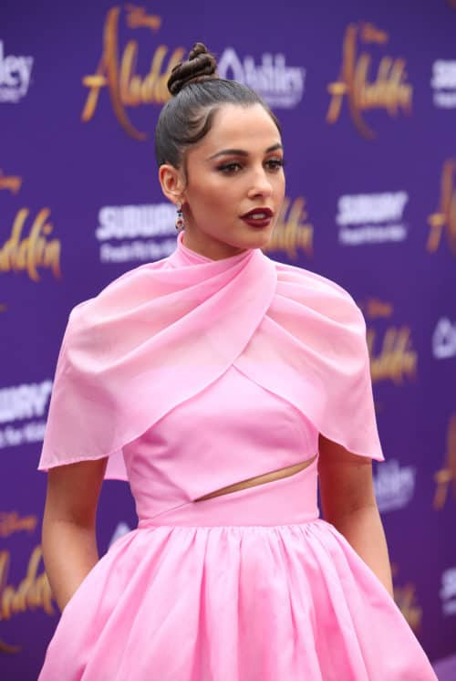 "Naomi Scott World Premiere of Disney's ""Aladdin"" In Hollywood"