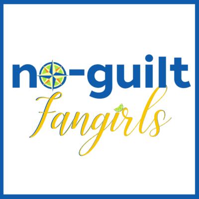 no-guilt fangirls podcast cover art