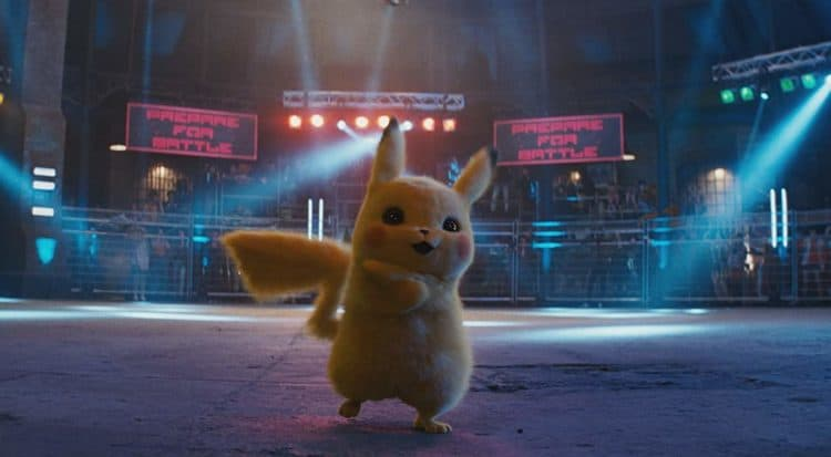 pokemon battle in Detective Pikachu parent movie review