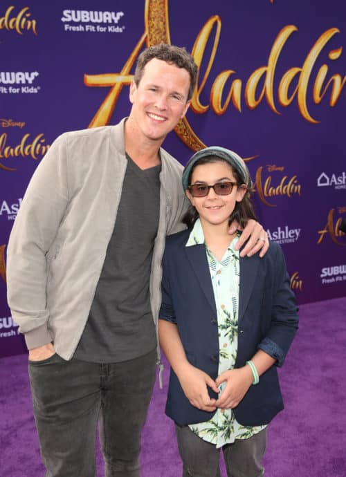 "The original Aladdin, Scott Weinger attends the World Premiere of Disney's ""Aladdin"" In Hollywood red carpet"