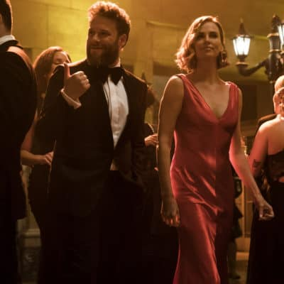 Fred Flarsky (Seth Rogen) and Charlotte Field (Charlize Theron) in Long Shot