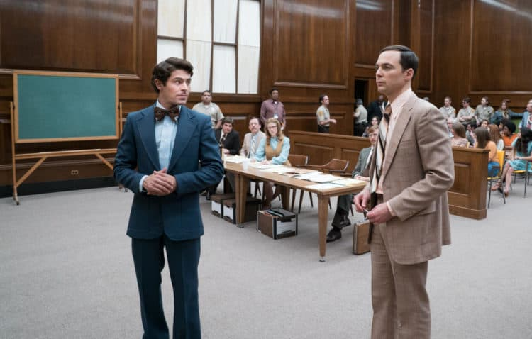 EXTREMELY WICKED, SHOCKINGLY EVIL AND VILE review Jim Parsons and Zac Efron